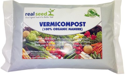 Real Seed Vermicompost 100% Organic Soil Manure