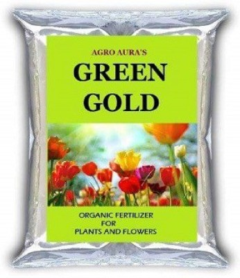 Agro Aura Green Gold Organic Soil Mix for plants and vegetables and flowers 5 kgs Soil Manure
