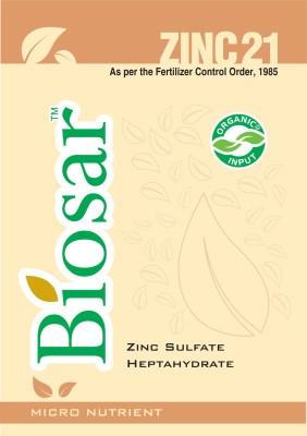 Biosar Zinc 21 Soil Manure(1 kg Powder)