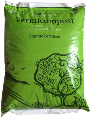 Green Roots Vermicompost + FREE 10gm Spinach Seeds Soil Manure