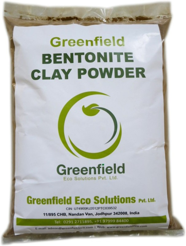 Greenfield 100% Pure Bentonite Clay Powder Soil Manure(4.7 kg Powder)