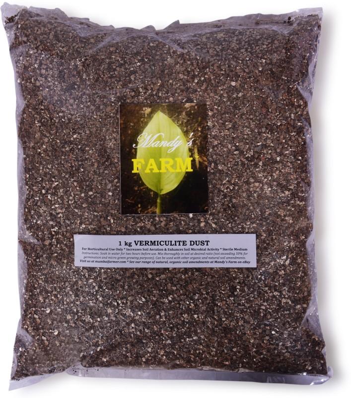 Mandy'S Farm Asbestos-Free, Non-Toxic Vermiculite Dust Soil Manure(1 kg Powder)