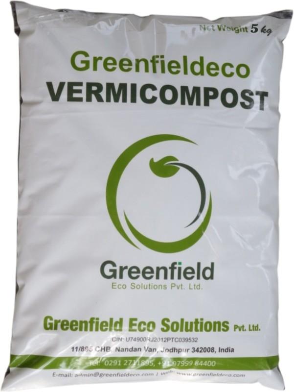 Greenfieldeco Vermicompost 100% Organic Vermicompost Soil Manure(4.7 kg Powder)