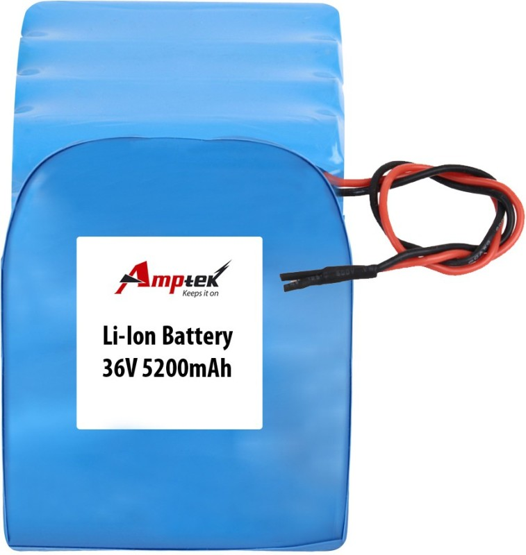 AMPTEK 36V 5200mAh Li-Ion Battery Pack(20A max.) Gel Solar Battery(36 V)