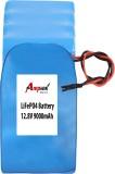 AMPTEK 12.8V 9000mAh LiFePo4 Battery Pac...