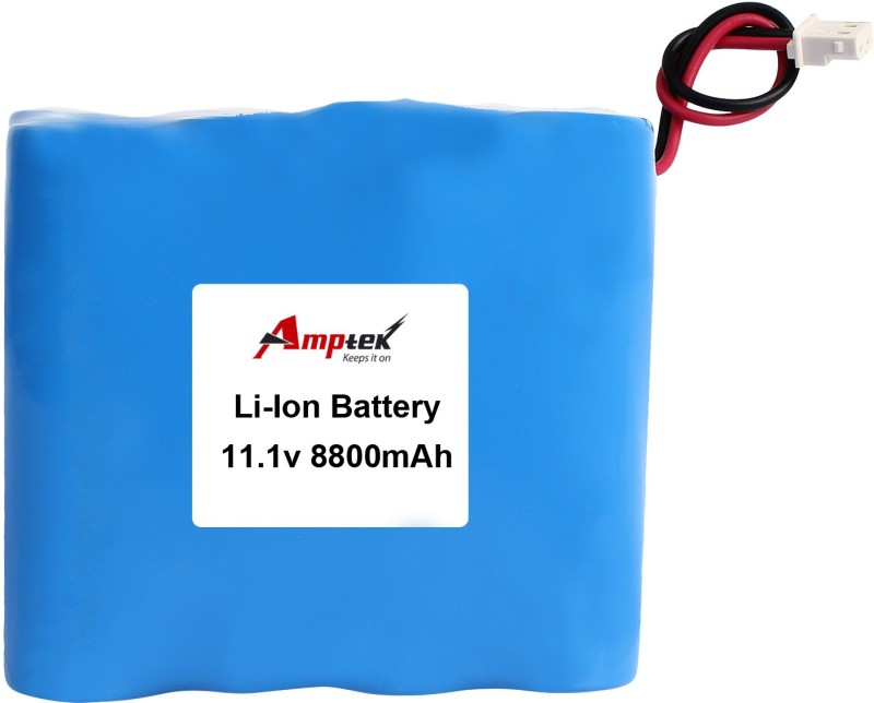 AMPTEK 11.1V 8800mAh Li-Ion Battery Pack(5A) Gel Solar Battery(11.1 V)