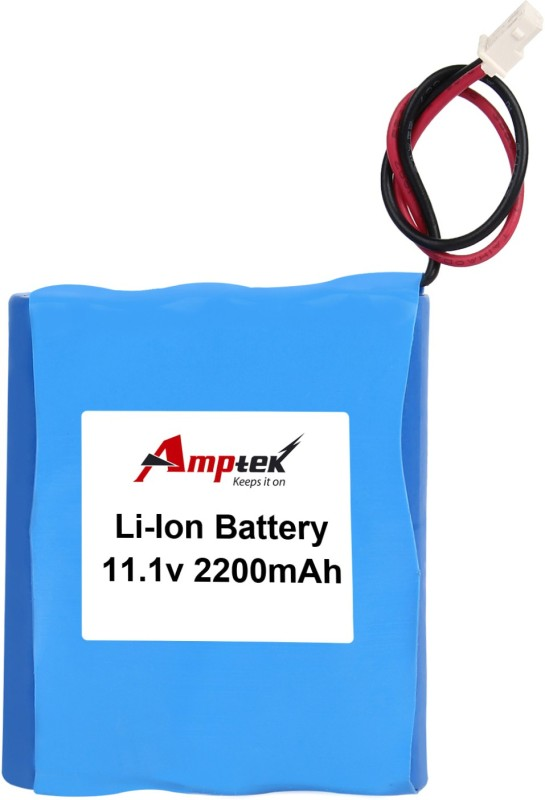 AMPTEK 11.1V 2200mAh Li-Ion Battery Pack(2A) Gel Solar Battery(11.1 V)