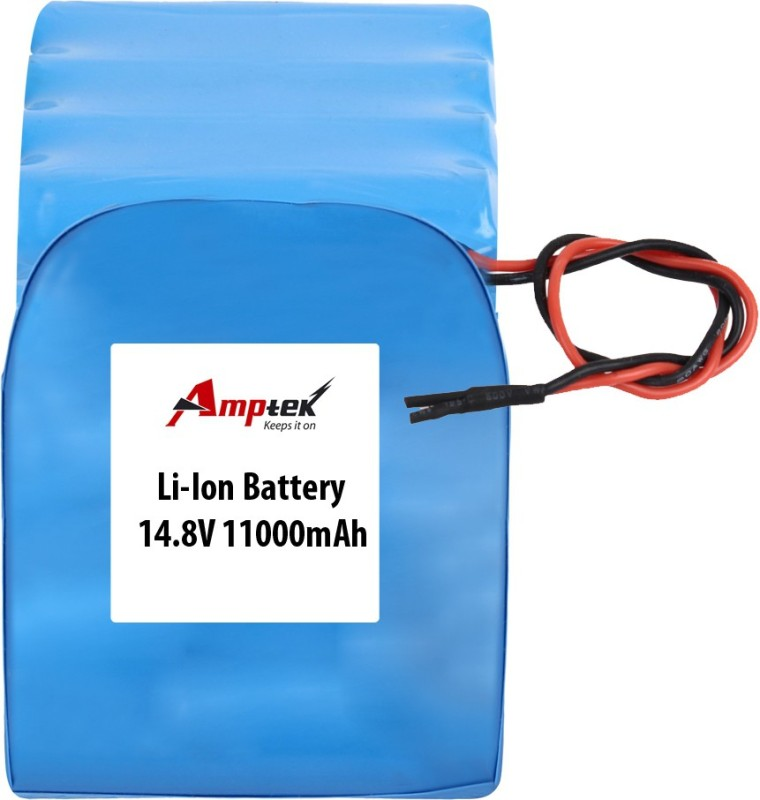 AMPTEK 14.8V 11000mAh Li-Ion Battery Pack(5A) Gel Solar Battery(14.8 V)