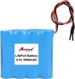AMPTEK 6.4V 3000mAh LiFePo4 Battery Pack...