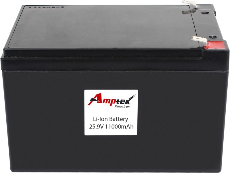 AMPTEK 25.9V 11000mAh Li-Ion Battery Pack (10A) Gel Solar Battery(25.9 V)