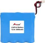 AMPTEK 12.8V 3000mAh LiFePo4 Battery Pac...