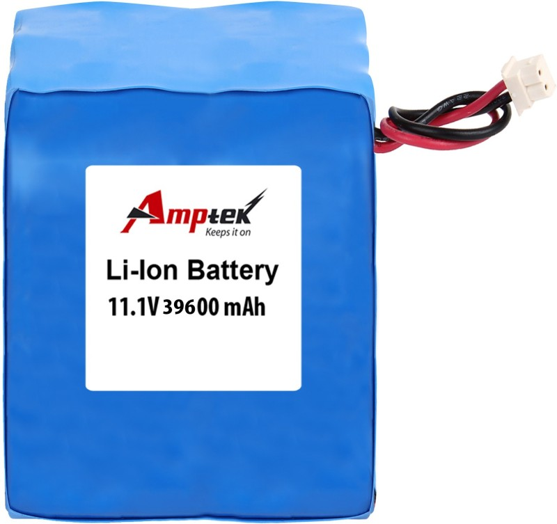 AMPTEK 11.1V 39600mAh Li-Ion Battery Pack(5A) Gel Solar Battery(11.1 V)