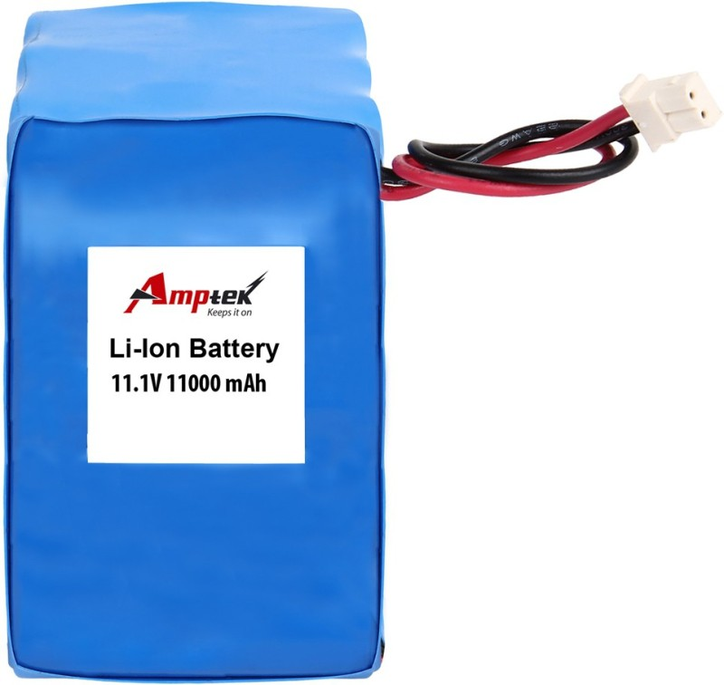 AMPTEK 11.1V 11000mAh Li-Ion Battery Pack(5A) Gel Solar Battery(11.1 V)