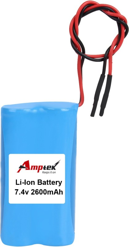 AMPTEK 7.4V 2600mAh Li-Ion Battery Pack(2A) Gel Solar Battery(7.4 V)