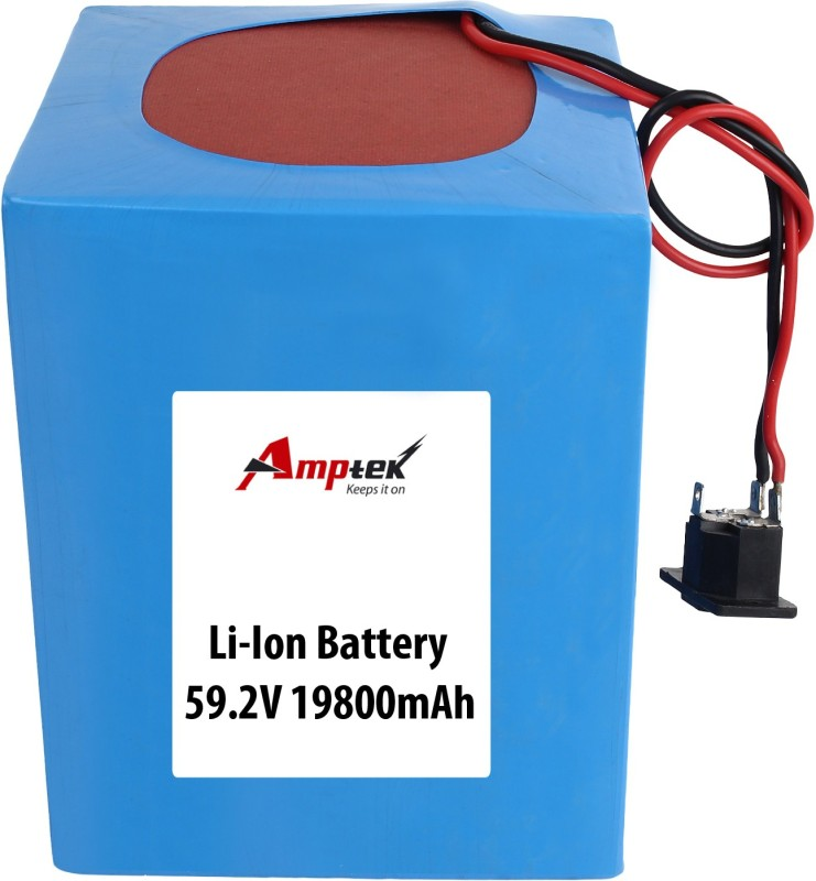AMPTEK 59.2(60V) 19800mAh Li-Ion Battery Pack(30A max.) Gel Solar Battery(59.2 V)