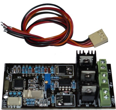 MTS SCC-M07 PWM Solar Charge Controller