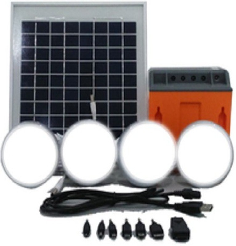 Barefoot Power Connect 600 Solar LED Home Lighting System with USB Port & Mobile Charging Kit Solar Light Set(Ceiling Mounted)