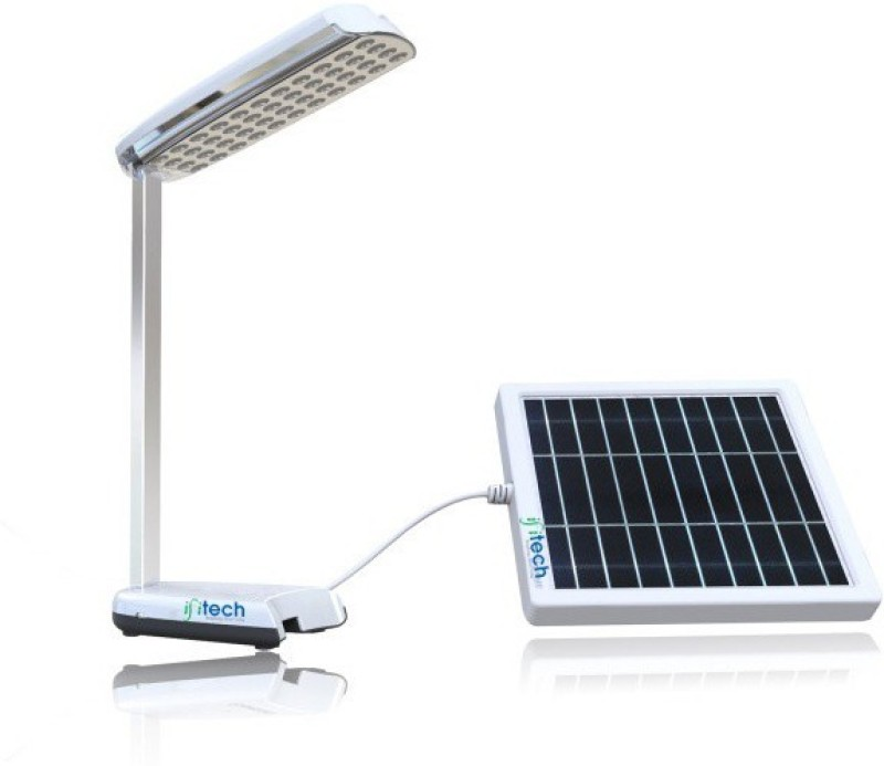 IFITech IFITECH™ SOLAR TABLE STUDY LAMP WITH MOBILE CHARGER-SLTL250 Solar Light Set(Free Standing)