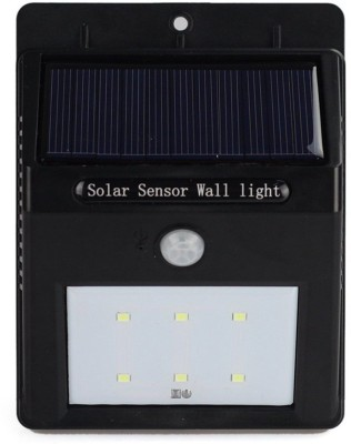 Adraxx 8 LED Solar Power PIR Motion Sensor Wall Lights Waterproof Outdoor Garden Light Solar Light Set