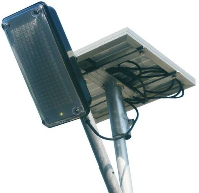 Mazda Energy 7.5W Solar Street LED Light. Battery Solar Light Set