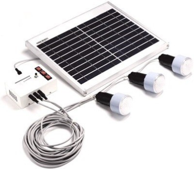 Kirloskar Solar Super Bright 9L Solar Light Set