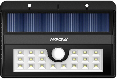 Mpow Super Bright 20 LEDs Wireless Motion Outdoor Solar Light Set(Wall Mounted)