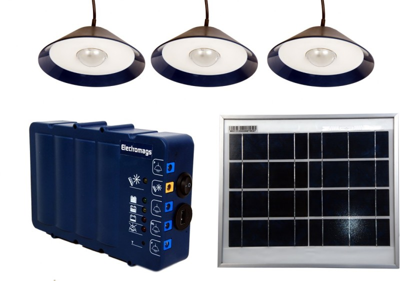 Electromags SHLS7500 Solar Light Set(Wall Mounted)