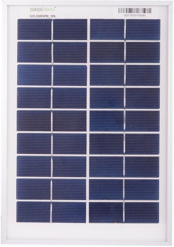 Goldi Green 20Watt Solar Panel