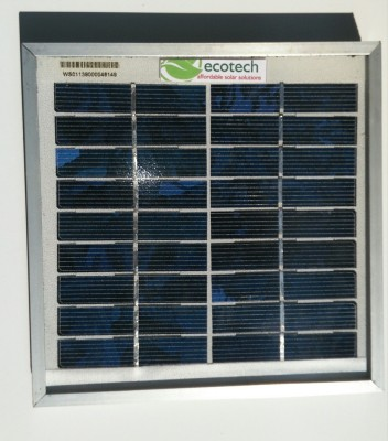 Ecotech sp-2-6v Solar Panel