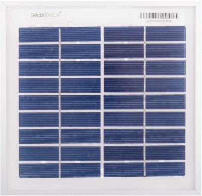 Goldi Green 3 Watt Solar Panel