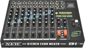 Krown Mixer-KSEM-8 Analog Sound Mixer