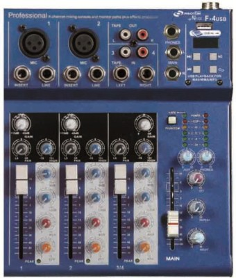 Nx Audio F4USB Analog Sound Mixer