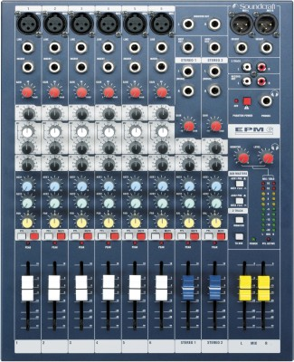 Soundcraft EPM6 Analog Sound Mixer