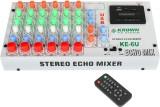 Krown SM-6U 6 Channel Stereo Echo Mixer ...