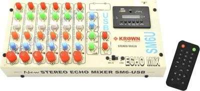 Krown Mixer-KSM-6USB Analog Sound Mixer