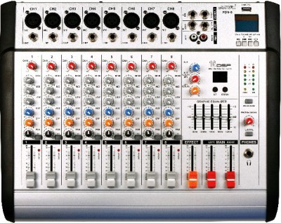BTL 8CH-USB Powered Sound Mixer