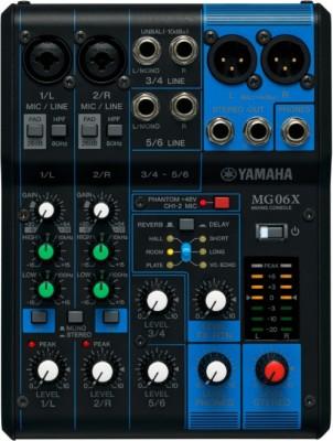 Yamaha MG06X Analog Analog Sound Mixer