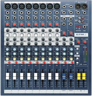 Soundcraft EPM8 Analog Sound Mixer