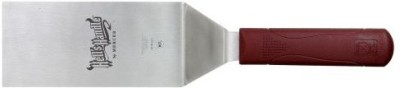 Mercer Culinary Hell,S Handle M18320 Large 188 Stainless Steel Square Edge Turner Spatula