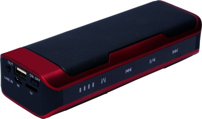 Nison 1 Bluetooth Mobile/Tablet Speaker(Peppy Red, 1.0 Channel)