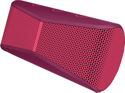 Logitech X300 Portable Bluetooth Laptop/Desktop Speaker(Red, 2 Channel)