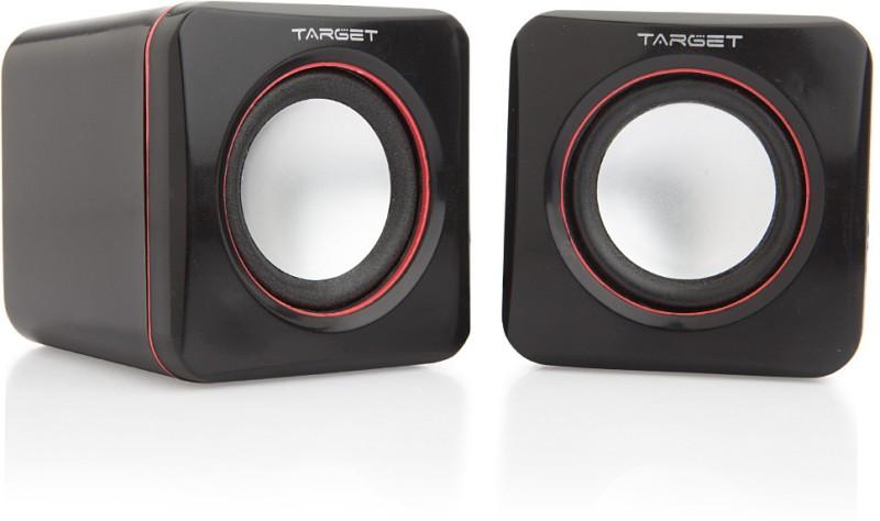 Target TS-M004 Laptop/Desktop Speaker(Black, 2.0 Channel)