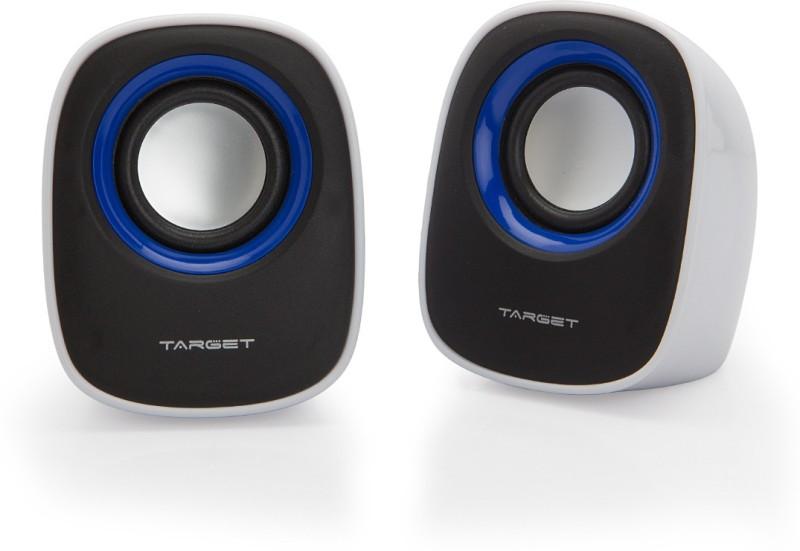 Target TS-M017 Laptop/Desktop Speaker(Black, 2.0 Channel)
