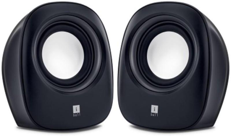 iBall Soundwave2 Portable Laptop/Desktop Speaker(Black, 2 Channel)