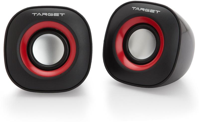 Target TS-M010 Laptop/Desktop Speaker(Black, 2.0 Channel)