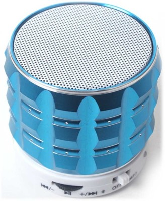 Callmate Gear Bluetooth With Hands-free Call, AUX & USB Card Reader Bluetooth Mobile/Tablet Speaker(Blue, 1.0 Channel)