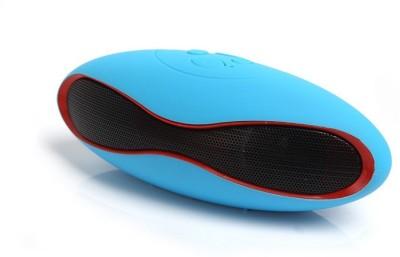 Landmark Blue Mini Rugby Bluetooth Portable Bluetooth Mobile/Tablet Speaker