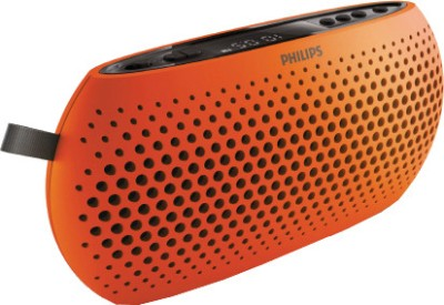Philips SBM130ORG/00 Portable Mobile/Tablet Speaker(Orange, Mono Channel)