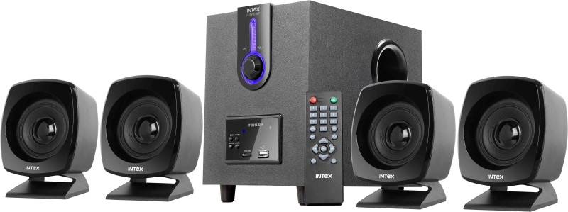 Intex IT-2616 SUF OS Multimedia Portable Home Audio Speaker(Black, 4.1...