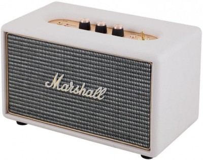 Marshall ACTON Portable Bluetooth Home Audio Speaker(Cream, 1.0 Channel)